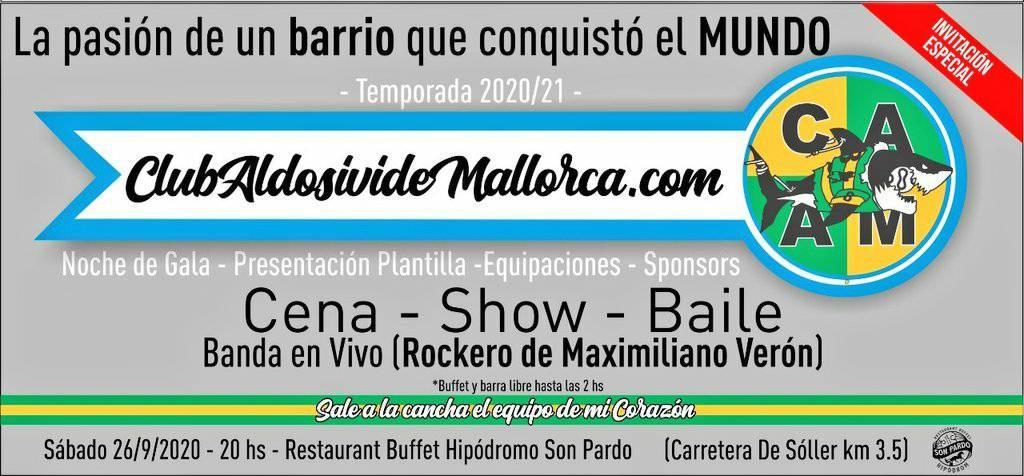 En este momento estás viendo #GalaPresentación clubaldosividemallorca.com